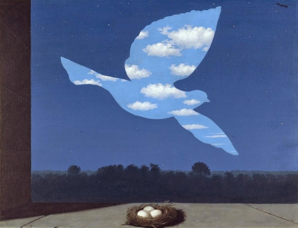 Рене Магритт, картина Возвращение