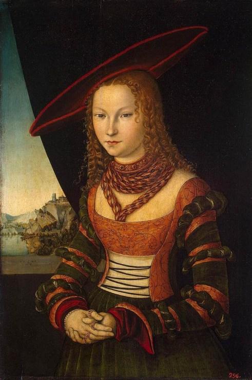 Кранах, Женский портрет