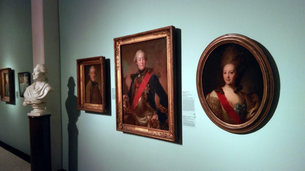 Выставка Рокотова в Третьяковской галерее