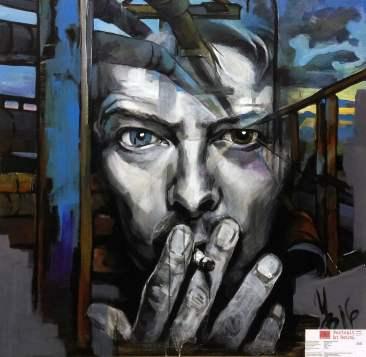 Инна Вольвак, картина David Bowie