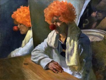 Фаттахов, картина Клоунада