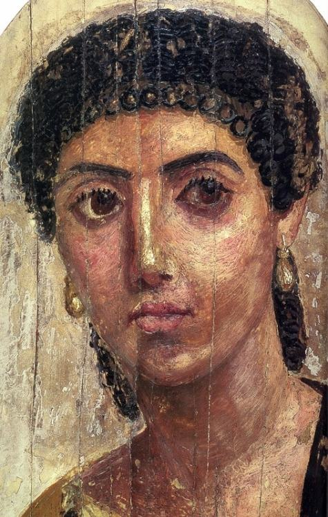 Фаюмский портрет, римлянка