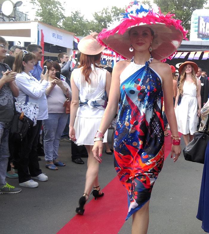Дефиле, День Франции во Флаконе