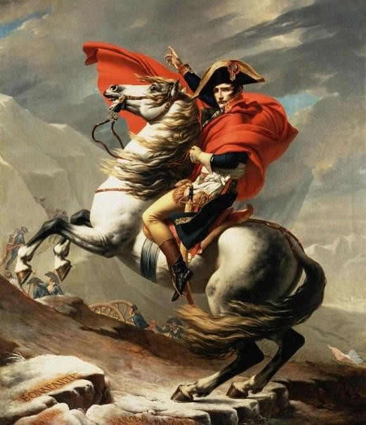 Жак-Луи Давид, Наполеон на перевале Сен-Бернар