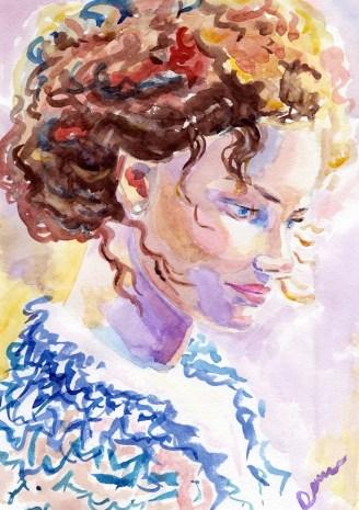 Портрет Елизаветы Боярской в роли Анны Тимиревой