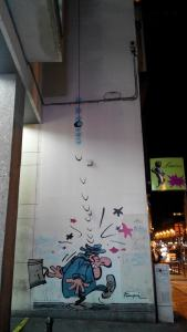 Комиксы на стенах Брюсселя