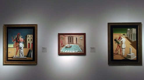 Выставка Джорджо Кирико, Третьяковская галерея
