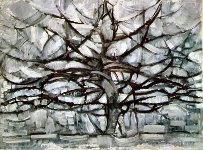 Mondrian Grey Tree