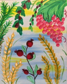 Happy Sukkot - Pinot's Palette Painting