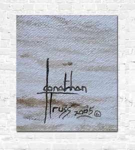 Signature of Jonathan Truss