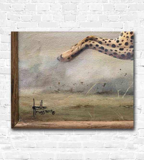 Cheetah Oil Painting