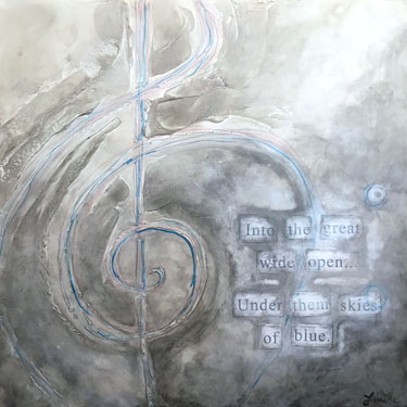 Melodic Journey tom petty painting