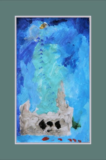 Tyler's Painting - Statue of Liberty 2014-03-30 Framed