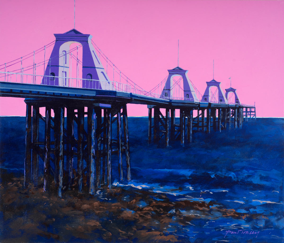 Painting of Brighton Chain Pier