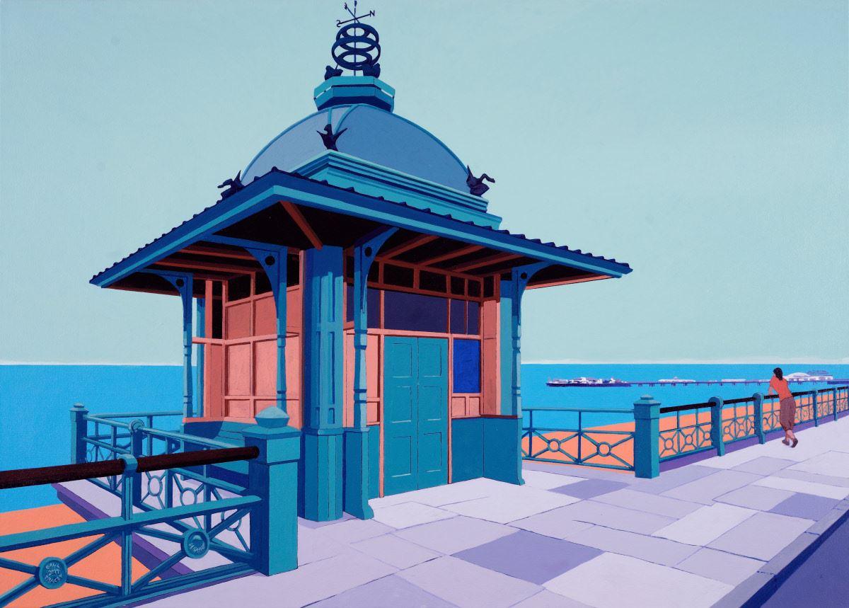 Painting of Brighton Pier