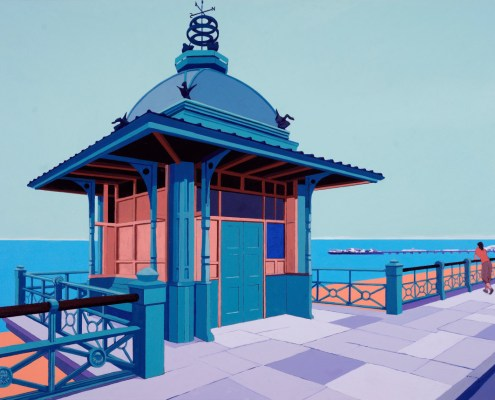 Painting of Brighton Pier