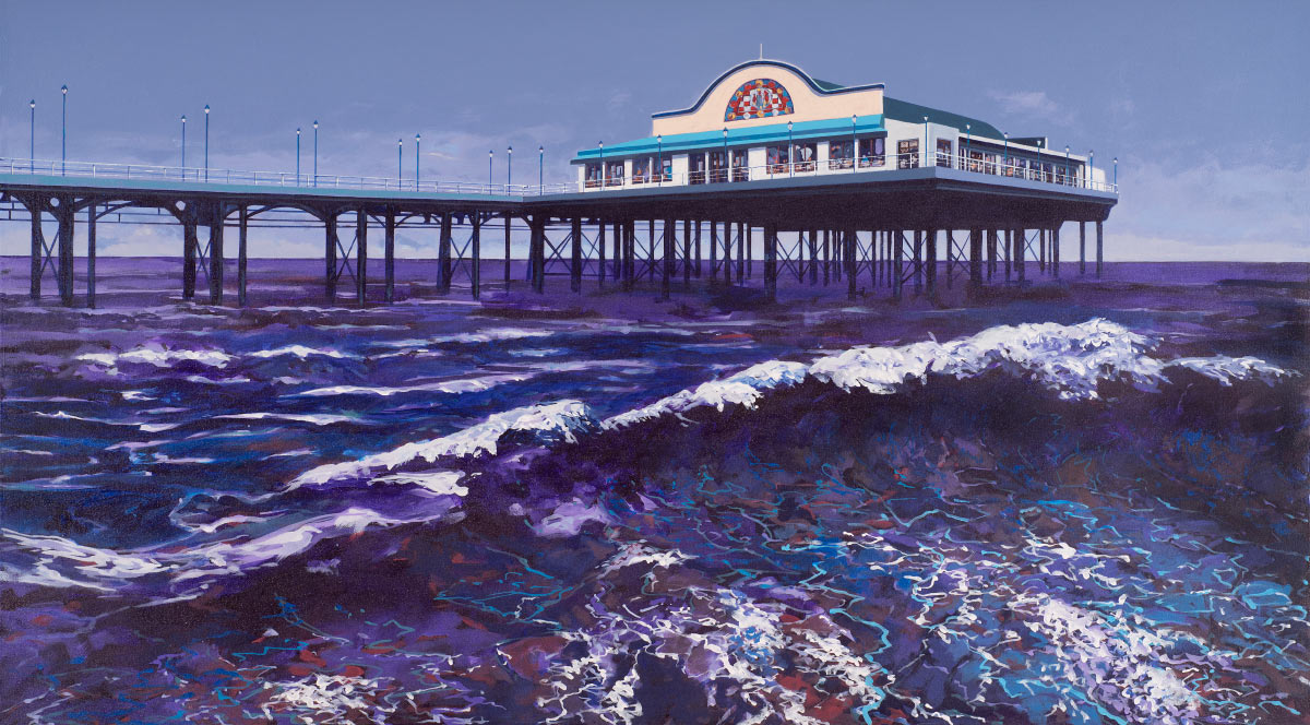 Painting of Cleethorpes Pier