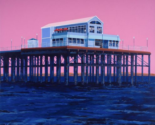 Painting of Oceanside Pier