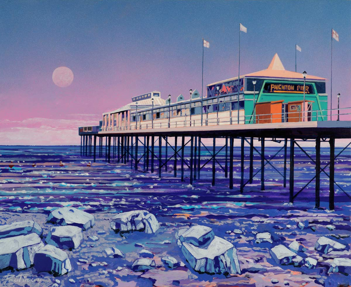 Painting of Paignton Pier