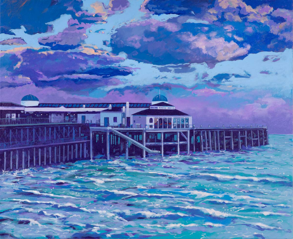 Painting of Ryde Pier