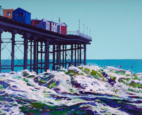 Painting of Teignmouth Pier