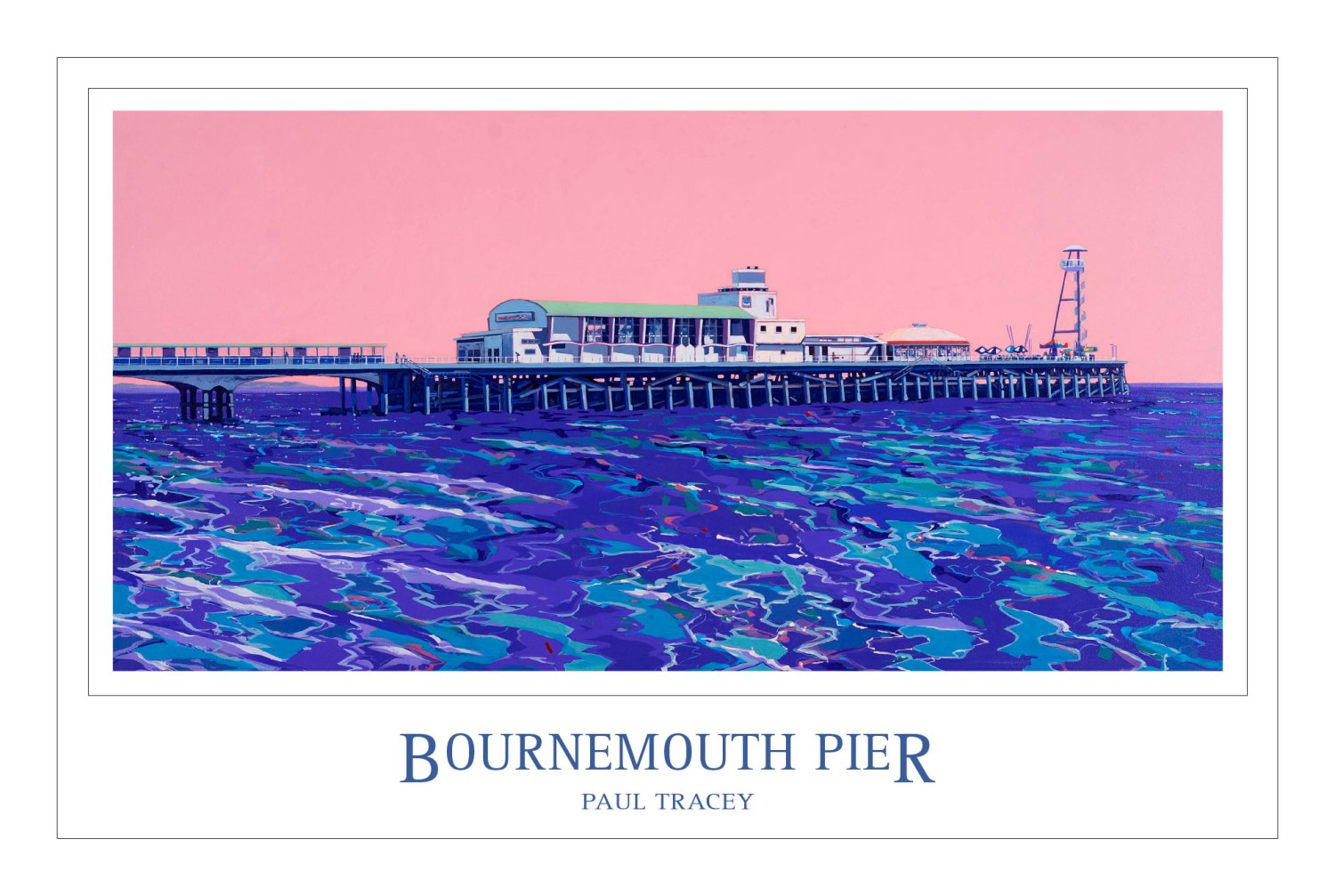 Poster of Bournemouth Pier Painting