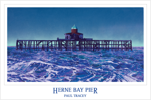 Poster of Herne Bay Pier Painting