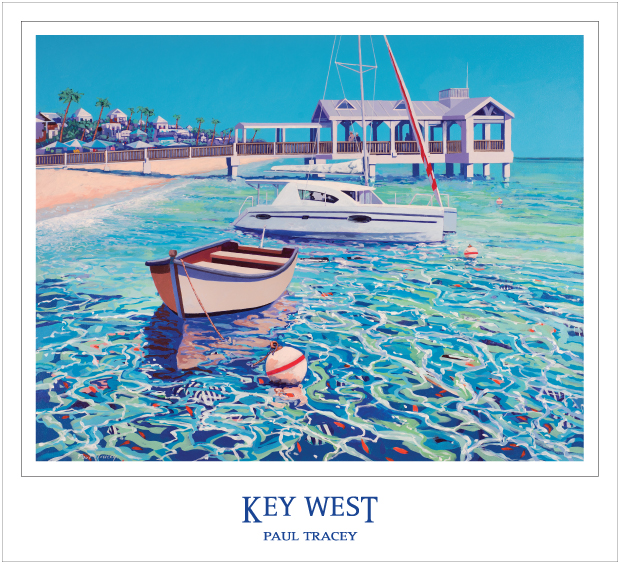 Poster of Key West Pier Painting