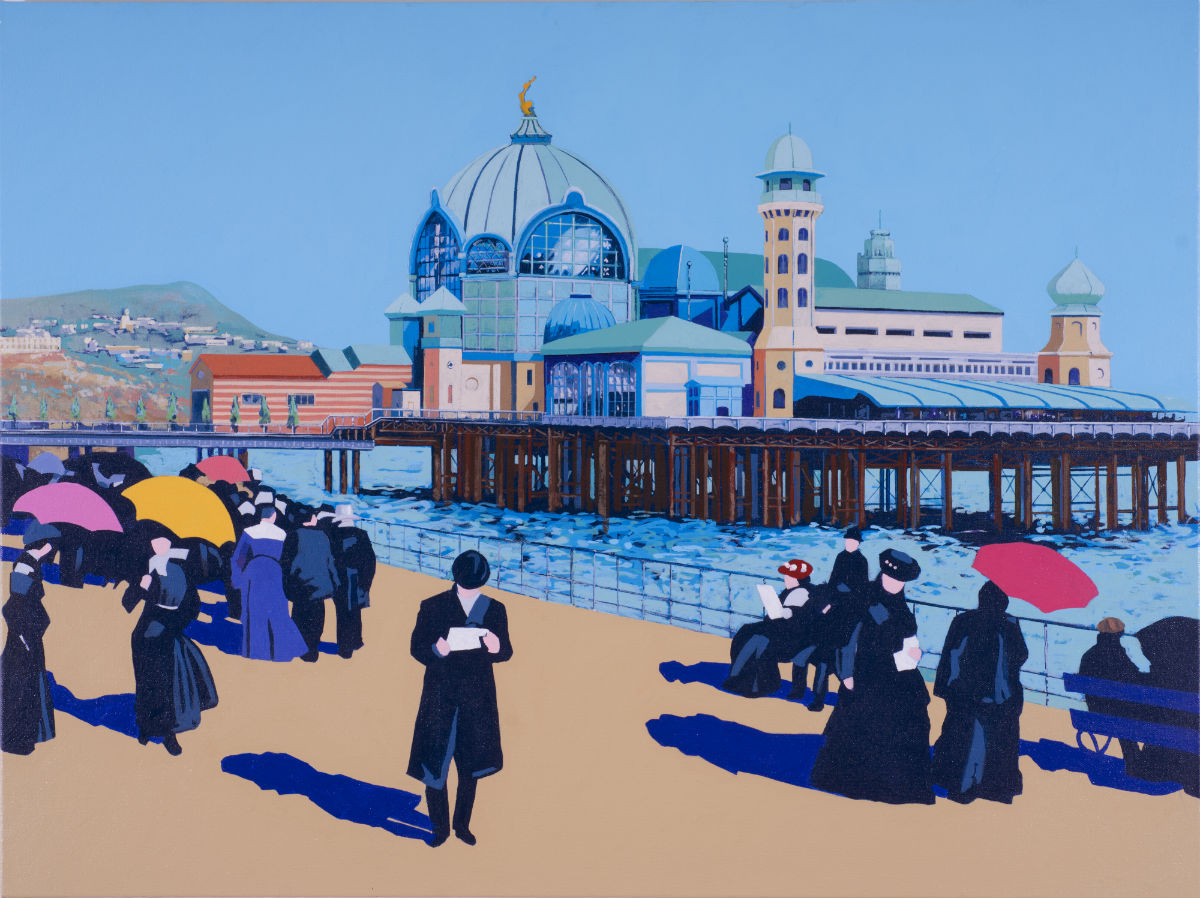 Painting of Nice Pier