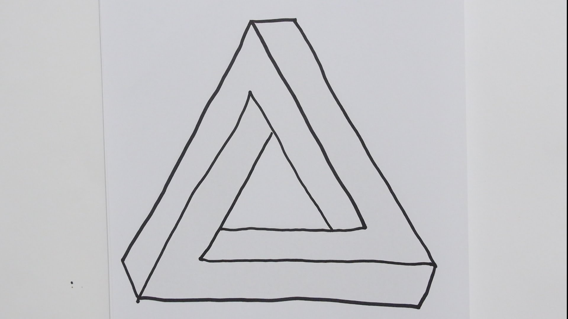 3d Triangle Drawing At Paintingvalley