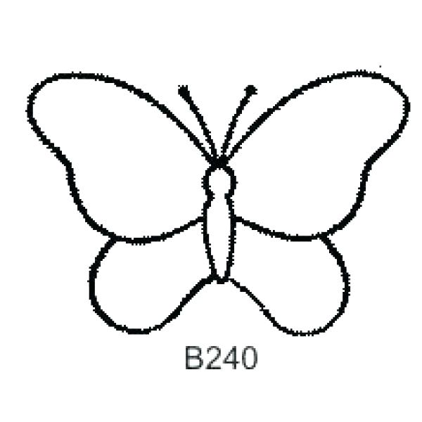 Butterfly Drawing Simple Carinewbi