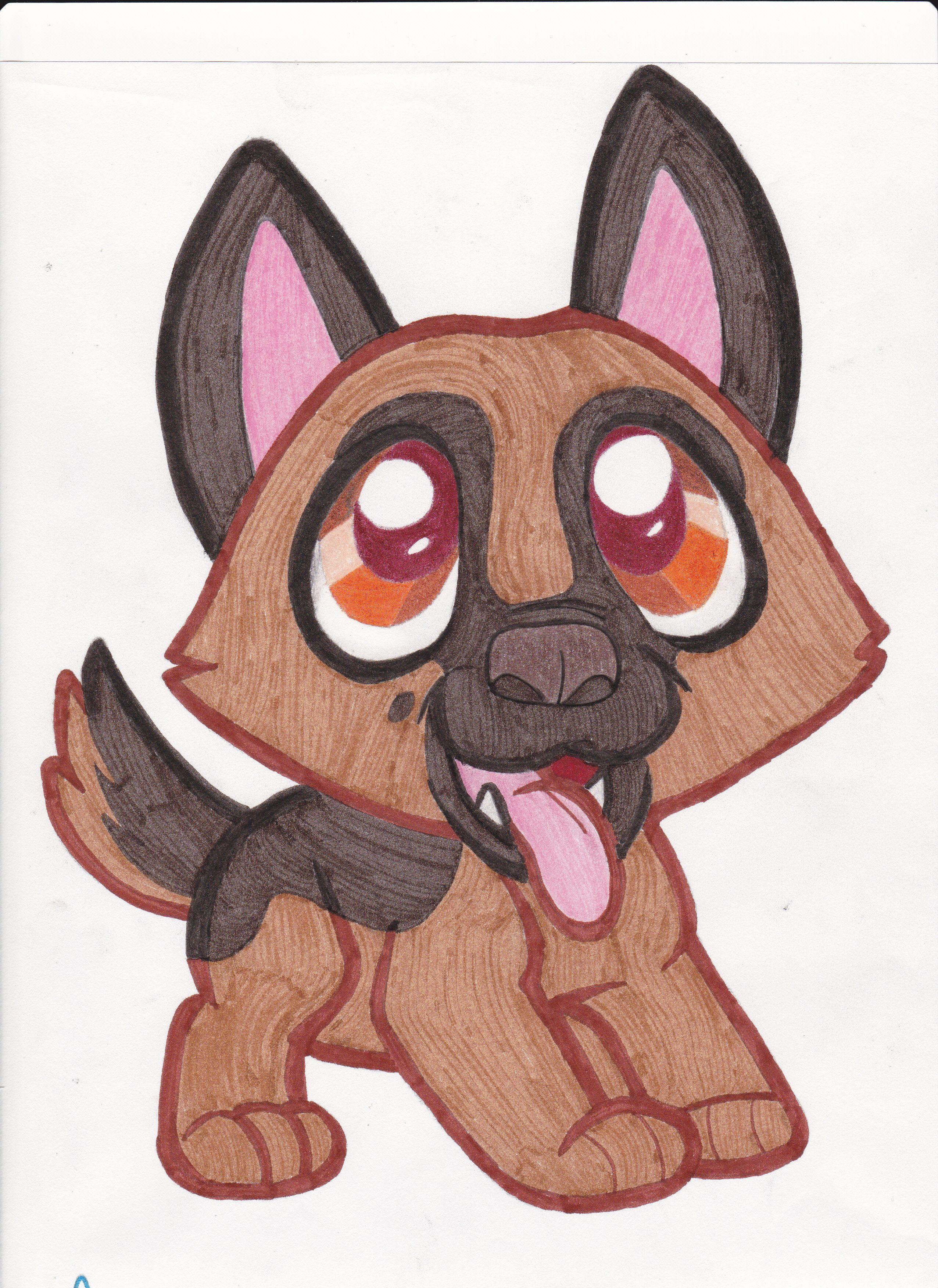 Cute Puppies Drawings Easy Step By Step Glodakk