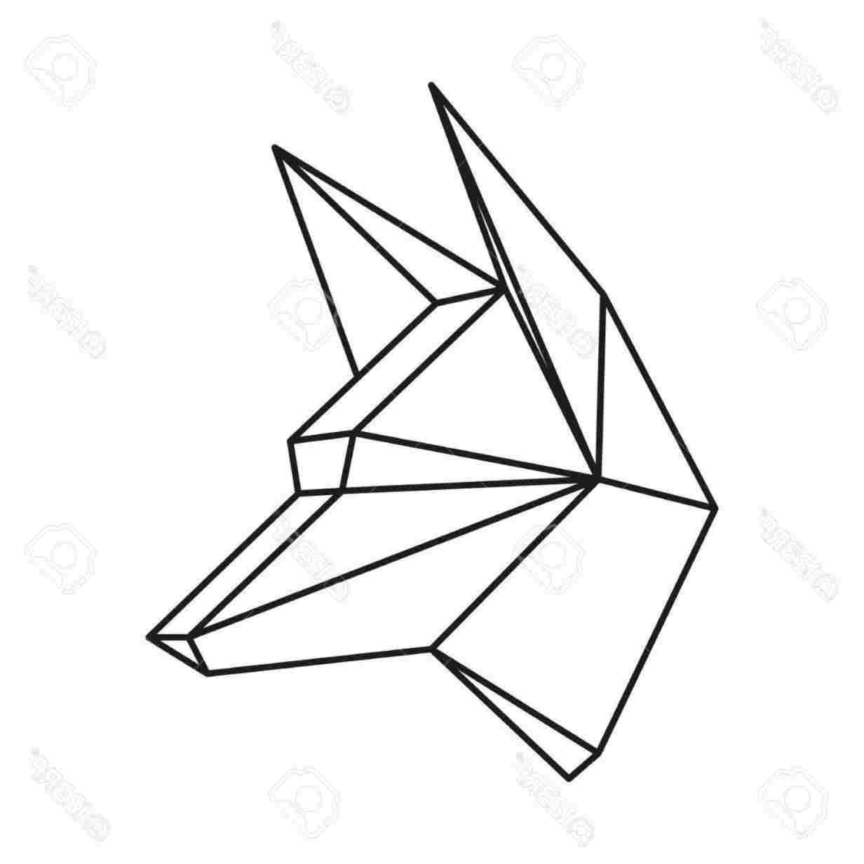 Animals Drawing Using Shapes