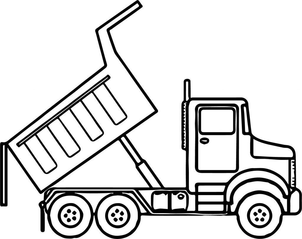 Dump Truck Drawing At Paintingvalley