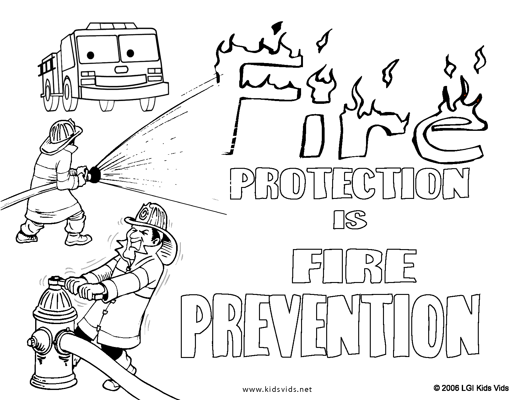 Fire Safety Drawing At Paintingvalley