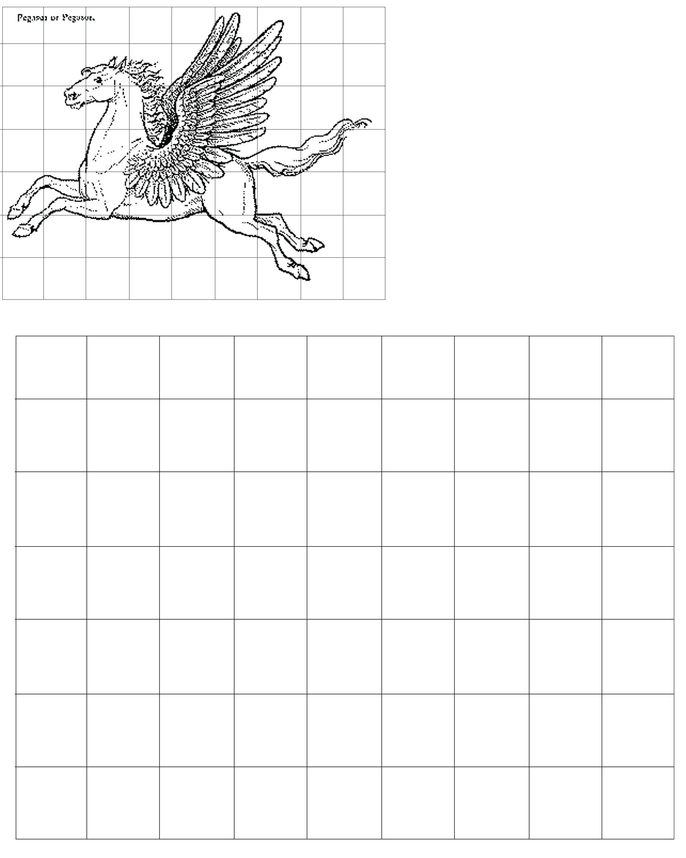 Grid Drawing Worksheets For High School At Paintingvalley