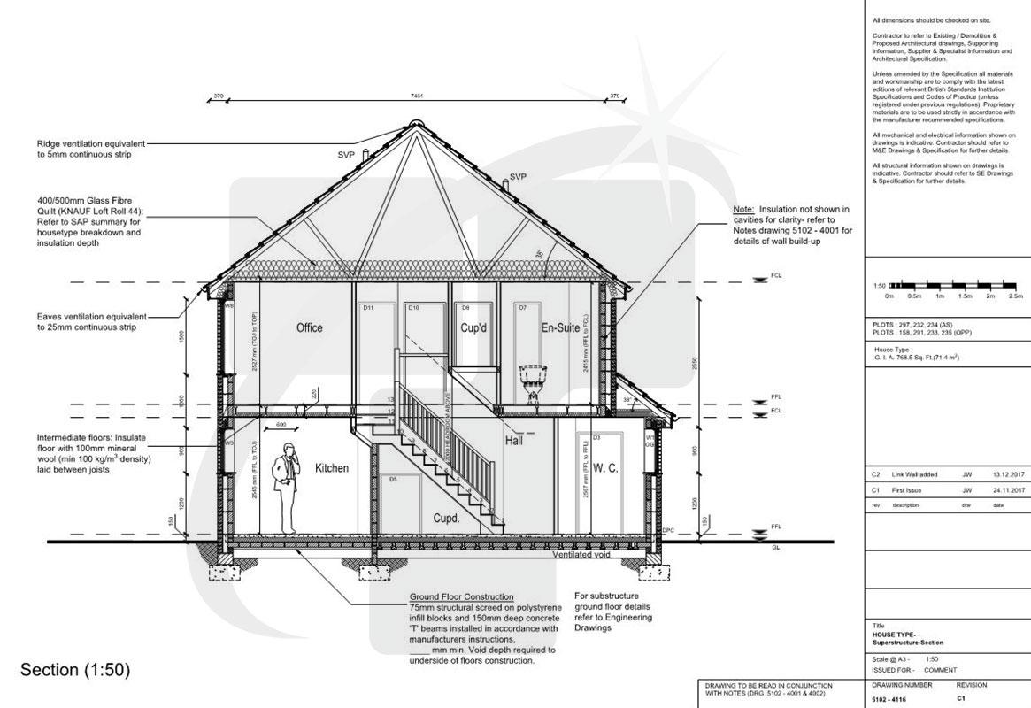 Residential Construction Diagram