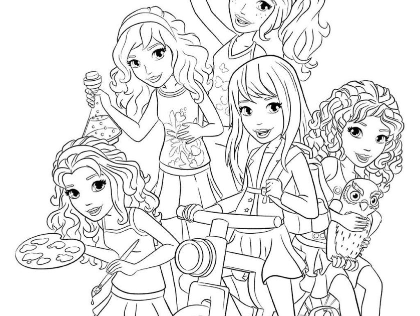 lego friends drawing at paintingvalley  explore