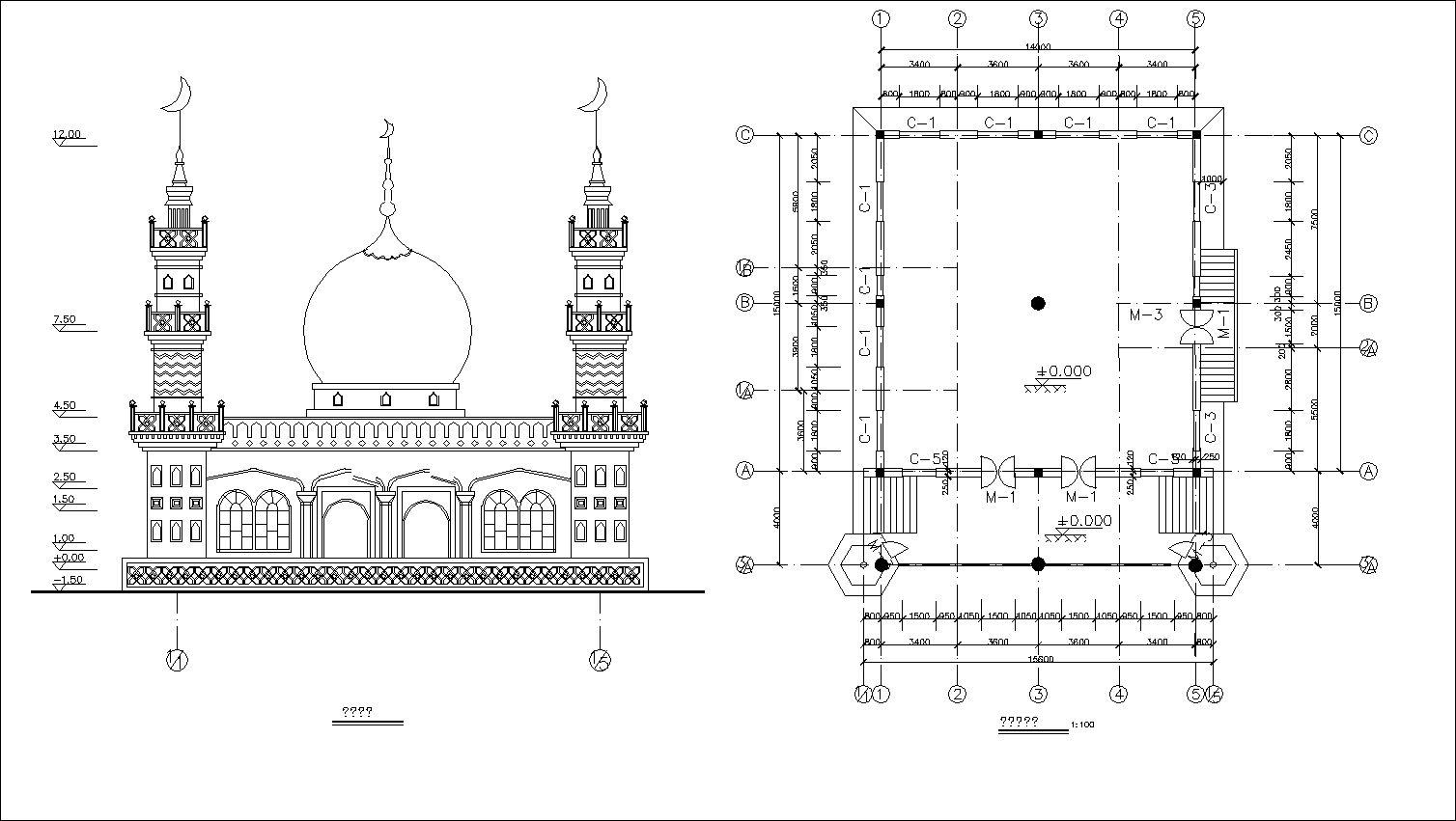 Masjid Drawing At Paintingvalley