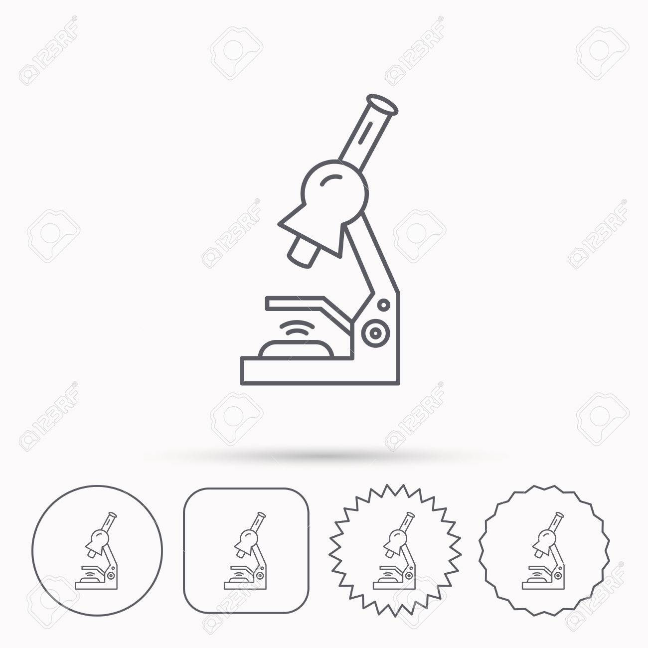 Microscope Drawing Template At Paintingvalley
