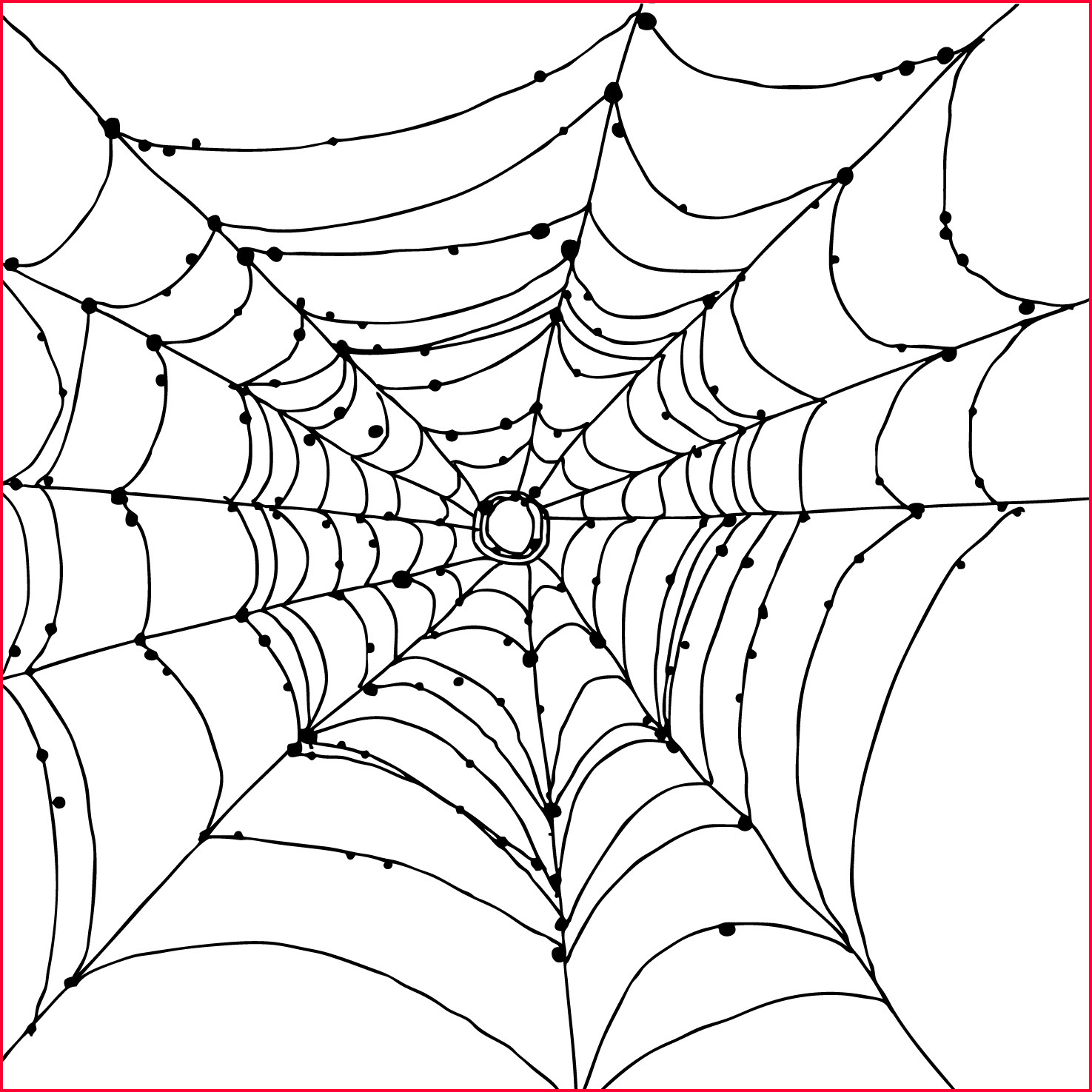 Simple Spider Web Drawing At Paintingvalley