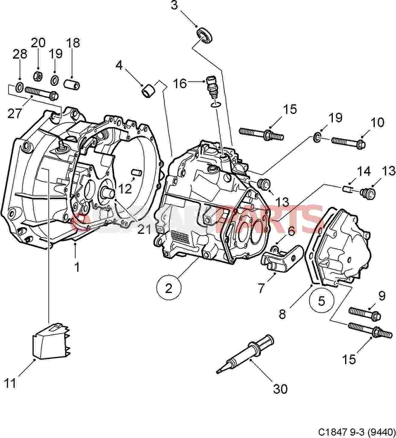 35 Manual Transmission Parts Diagram