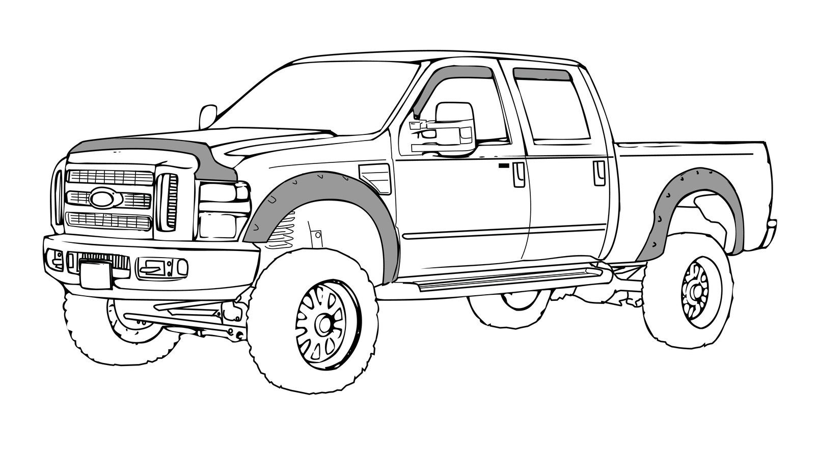 Truck Drawing At Paintingvalley