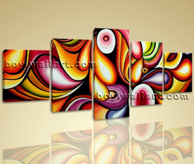 X Large Colorful Wall Art Living Room Decoration Ideas Modern Abstract Painting Images