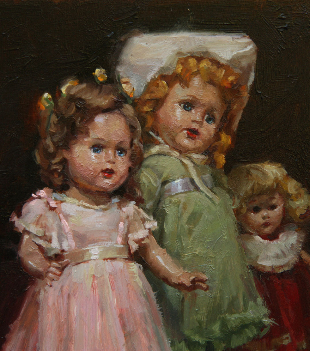 Doll Painting At Paintingvalley