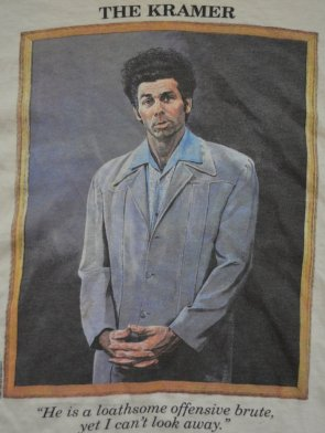 Image result for cosmo kramer loathsome offensive brute meme