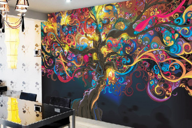 Trippy Wall Paint Ideas Novocom Top