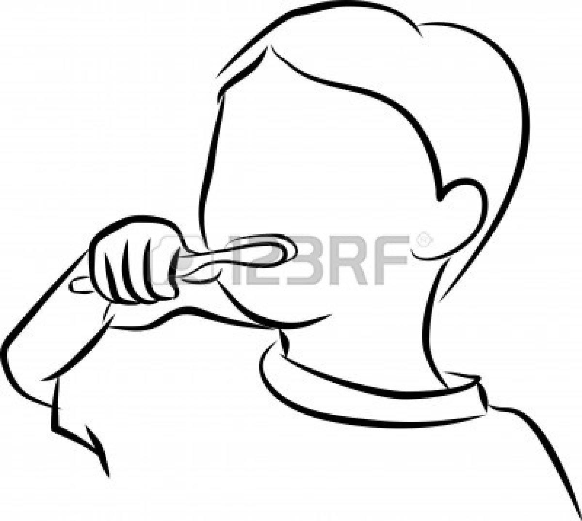 Brushing Teeth Sketch At Paintingvalley