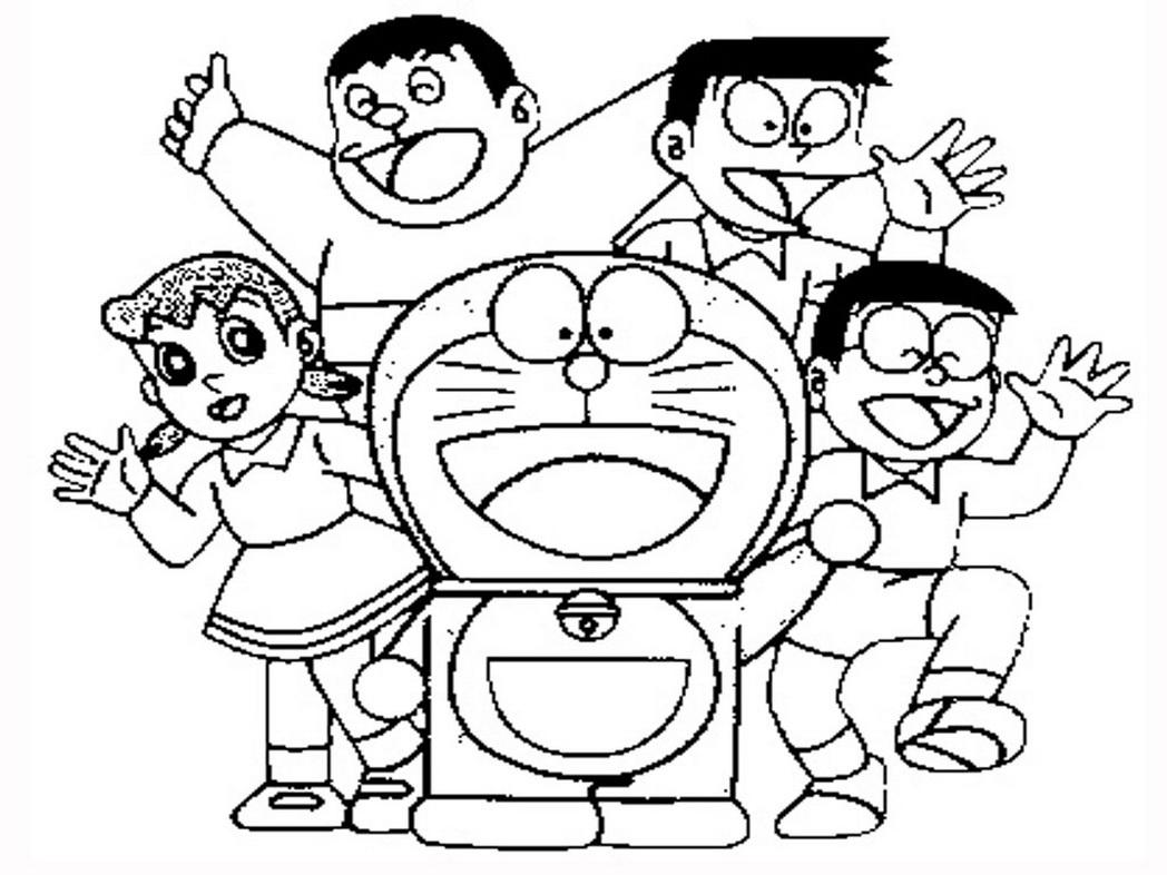Doraemon Sketch At Paintingvalley