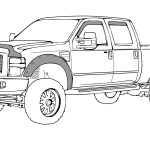 Ford Truck Sketch At Paintingvalley Com Explore Collection Of Ford Truck Sketch